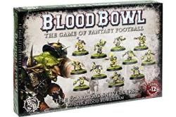Games Workshop Blood Bowl The Game Of Fantasy Football The Scarcrag Snivellers Goblin Team 12 Miniatures