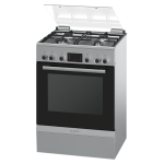 Bosch Gas electic Stove S S 60CM