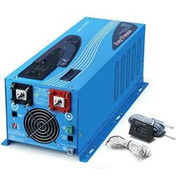 Sungoldpower 2000W Peak 6000W Pure Sine Wave Power Inverter Dc 12V Ac 110V With Battery Ac Charger Lcd Display Low Frequency Sol