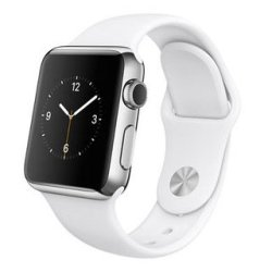 1db5c76136c Zonabel 38MM Silicone Strap For Apple Watch - White