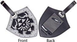 Zelda Nintendo Legend Of Shield Pu Travel Luggage Bag Tag