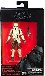 Hasbro Star Wars: Rogue One The Black Series Scarif Stormtrooper Squad Leader Exclusive Action Figure 3.75 Inches