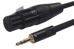 Pig HOG PATRS35 TRS M F Stereo Adapter -3.5Mm