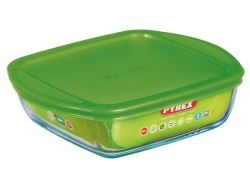 Pyrex - Storage Cook & Store Square Dish With Lid - 2.2L