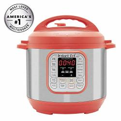 Instant Pot IP-DUO60RED Pressure Cooker 6 Quart Red Renewed