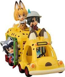 Kadokawa Kemono Friends: Japari Bus Pvc Figure Set