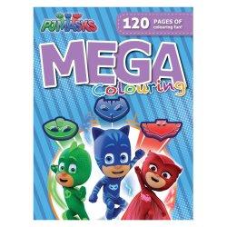 PJ Masks - - 120PG Mega Colour And Activity Book
