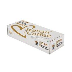 Nespresso Italian Coffee Arabica Compatible Coffee Capsules - 50