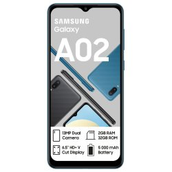 Samsung Galaxy A02 Dual Sim 32GB Blue
