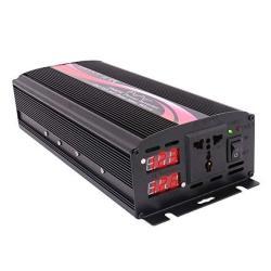 Krxny 1000W Watt Pure Sine Wave Car Power Inverter Converter 12V Dc To 110V 120V Ac 60HZ With LED Display