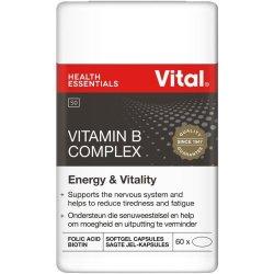Vital Vitamin B Complex 60 Capsules