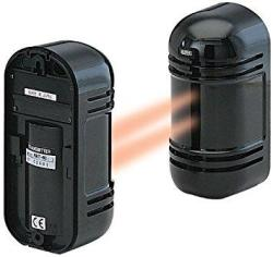 Cop Security 15-946 Indoor outdoor Photoelectric Dual Beam Sensor Up To 550ft Indoor 180ft Outdoor Black
