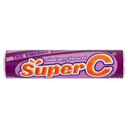 Super C MINI Roll Mixed Berry Mixed 37 G