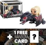 Game Of Thrones Daenerys & Drogon: Funko Pop Rides X Vinyl Figure + 1 Free Official Trading Card Bundle 72353