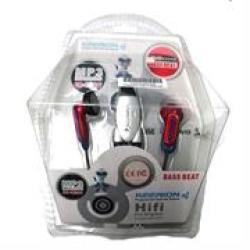 Geeko In-ear Earphones With Volume Control Oem 1 Year Limited Warranty features• Type: Earphone• Loudspeaker: 15MM• Earphone S