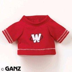 Ganz Webkinz Red Football Jersey