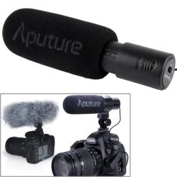 Aputure V-mic D1 Directional Condenser Shotgun Microphone Support 360 Degree Pan 180 Degree Tilt