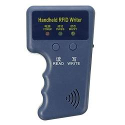 Handheld 125KHZ RFID Id Card Copier Writer Duplicator Programmer Reader - Id Writer And 10PCS