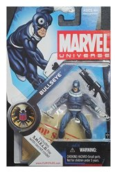 Marvel Universe 3 3 4 Inch Series 1 Action Figure Correct Light Blue Variant Bullseye 10 Extremely Rare And Htf