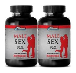 Libido For Men Sexual Pill - Male Sex Pills - Extra Strength Formula - Male Enhancement - Maca Harmony - 2 Bottles 120 Tablets