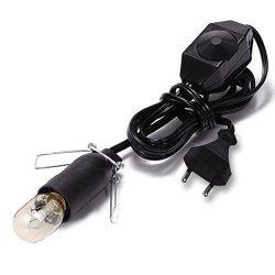 Ocamo Tungsten Filament Lamp + Dimming Light Line Heat Resistant For Salt Lamp 15W Without Salt Lamp ?european Regulation 220V E14