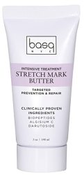 Basq Nyc Intensive Treatment Stretch Mark Butter Tube- Treat Stretch Marks & Scars- Pregnancy Safe With Shea Butter