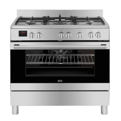 AEG 10369MN-MN 90CM Gas Elec Oven Cooker