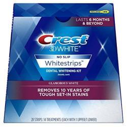 Crest 3D White Whitestrips Glamorous White Teeth Whitening Kit 14 Count