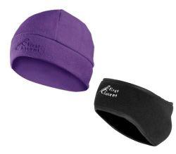 First Ascent Ladies Earmuff Beanie - Purple
