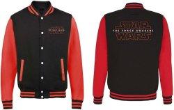 Star Wars - Episode Vii Logo Varsity Jacket Xx-large