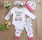 Daddy's Other Chick Baby Set