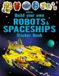 Build Your Own Robots And Spaceships Sticker Book Paperback