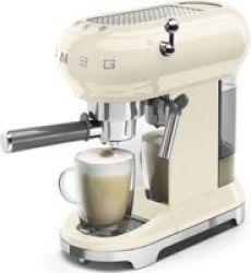 Smeg - Espresso Coffee Machine - Cream