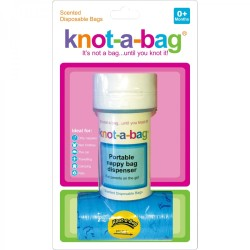 SNUGGLE TIME Knot-a-bag Disposable Nappy Bags