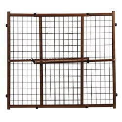 Evenflo Position And Lock Tall Pressure Mount Wood Gate Farmhouse