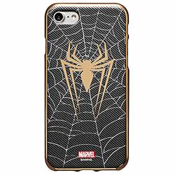 Metal Color Jelly Case With Avengers Character For Samsung Galaxy S10E Spider Man