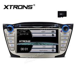 Xtrons 7 Inch HD Digital Touch Screen Car Stereo Radio In-dash DVD Player Gps Navigation Screen Mirroring Function For Hyundai T
