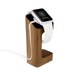 BoxWave Corporation Boxwave Apple Watch 38MM True Wood Watch Stand - Charging Station For Your Apple Watch 38MM Real Wood Platfo