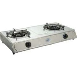 Cadac 2 Plate Stainless Steel Low Pressure Stove