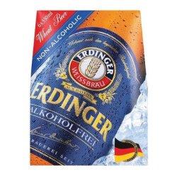 Erdinger Non-alcoholic Beer Nrb 330ML X 6