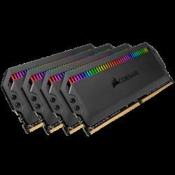 Corsair Dominator Platinum Rgb 32GB 4 8GB PC4-25600 C16 1.35V Desktop Memory - Black