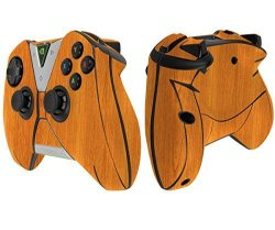 Skinomi Light Wood Full Body Skin Compatible With Nvidia Shield Tv Controller Kit Only 2015 Full Coverage Techskin Anti-bubble F