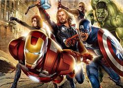 Avenger Alliance Iron Man American Captain Diamond Painting