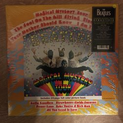 Beatles - Magical Mystery Tour - Remastered 180G - Includes 24 Page Full Colour Book - Vinyl Lp R...