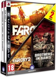 Compilation: Far Cry 2 + Brother In Arms Hell's Highway Ps3