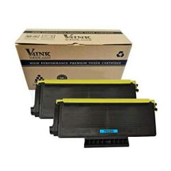 V4INK New Replacement For Brother TN650 TN580 Toner Cartridge For Use With Brother HL-5370DW HL-5340D DCP-8065DN HL-5240 HL-5250DN 2 Pack Black