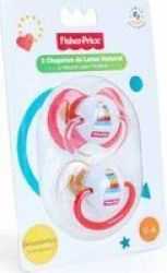 Fisher-Price Pacifier 0-6 Months 2 Piece