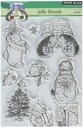 Penny Black Clear Stamp Set Jolly Friends