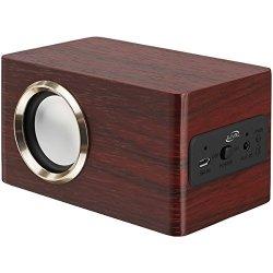 ILive ISB135RW Classic Portable Bluetooth Speaker Consumer Electronics