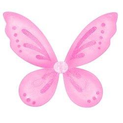 "Twinkle Bell Pink Sparkling Fairy Butterfly 23 X 18"" Wings"